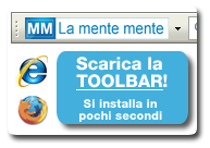 Scarica la TOOLBAR di La mente mente per essere costantemente aggiornato!